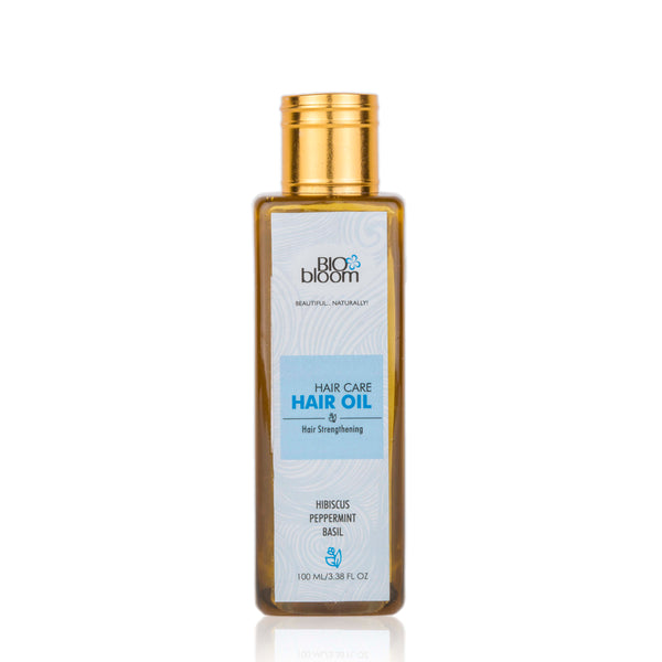 Hair Oil Hair Strengthening - Basil & peppermint