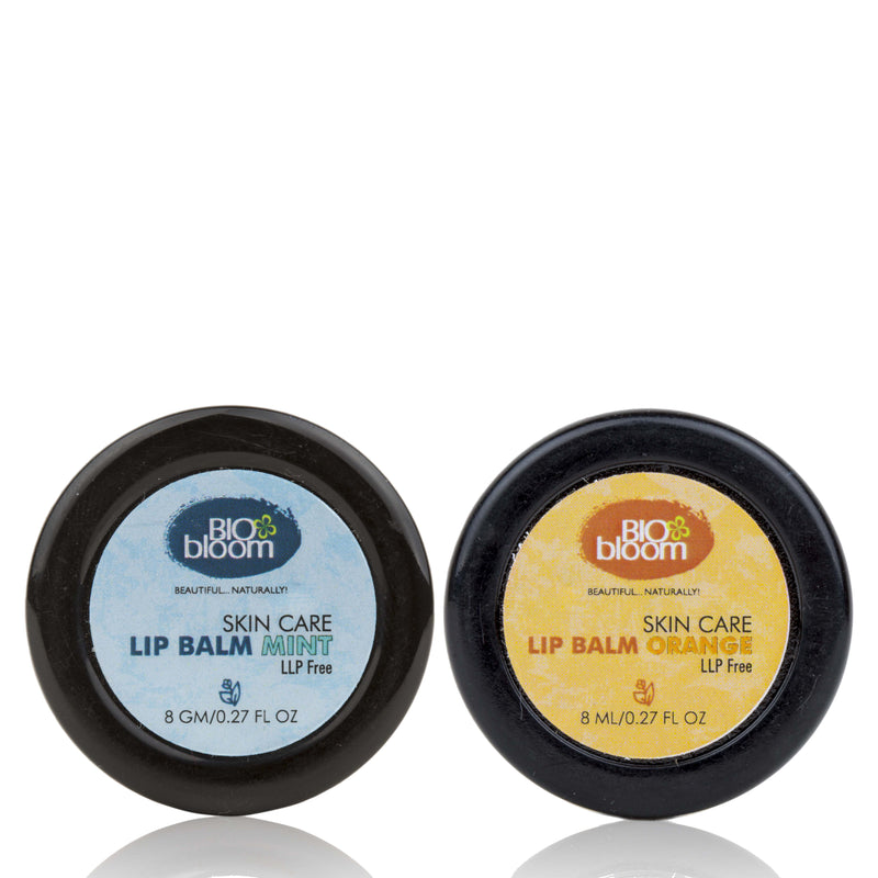 Lip Balm Combo - Mint & Orange