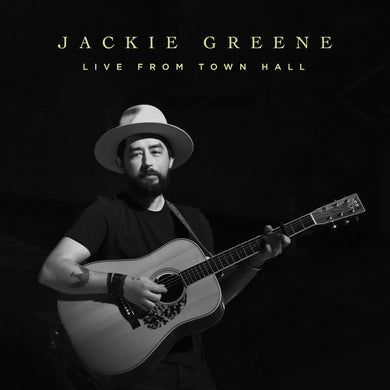 Jackie Greene - Live From Town Hall Digital Album