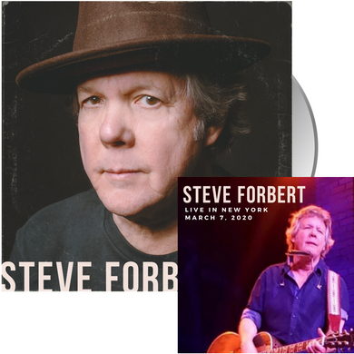 Steve Forbert - Early Morning Rain Bundle (CD + Live Show Download, 18 tracks)