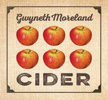 Gwyneth Moreland Cider CD Blue Rose Music album cover