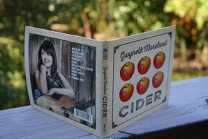 Gwyneth Moreland Cider CD Blue Rose Music outside covers