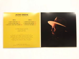 Jackie Greene The Modern Lives Vol. 2 vinyl album EP blue rose music back cover