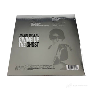 "Jackie Greene's Giving Up the Ghost Vinyl Cover 180G, 12"" GATEFOLD JACKET, METALLIC SILVER FOIL, DOWNLOAD CARD"