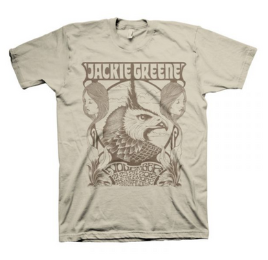 Jackie Greene fillmore t-shirt band merch made in america blue rose music