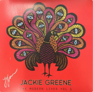 Jackie Greene - The Modern Lives Vol. 1 Red Vinyl (Autographed)