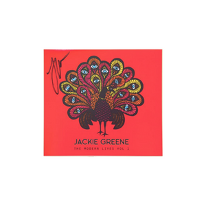 Jackie Greene The Modern Lives Vol. 1 CD autographed blue rose music