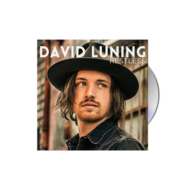 David Luning Restless CD Album Blue Rose Music