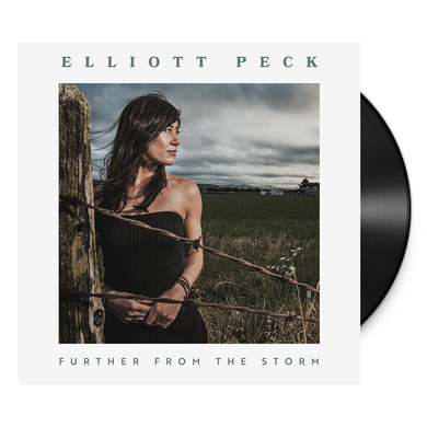 Elliot Peck further from the storm vinyl album 2018 blue rose music