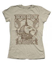 Jackie Greene fillmore women's t-shirt band merch made in america blue rose music