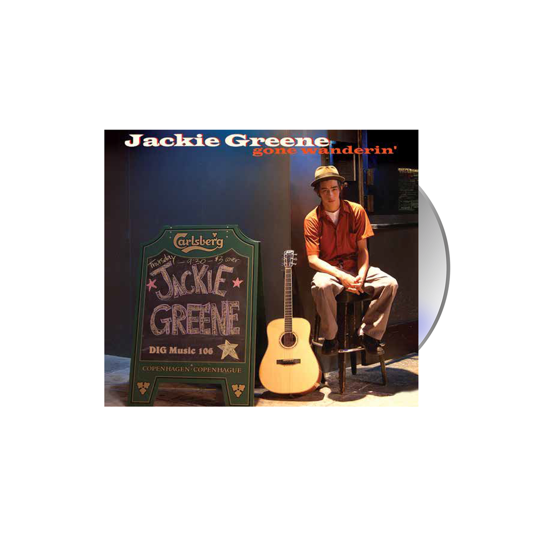 Jackie Greene gone wanderin' CD 2002 blue rose music