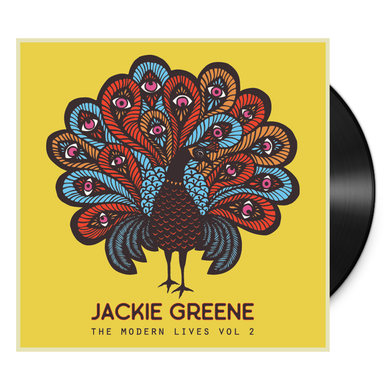 Jackie Greene The Modern Lives Vol. 2 vinyl album EP blue rose music front cover