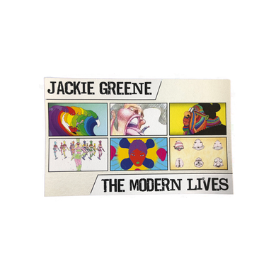 Jackie Greene modern lives postcard bill plympton blue rose music