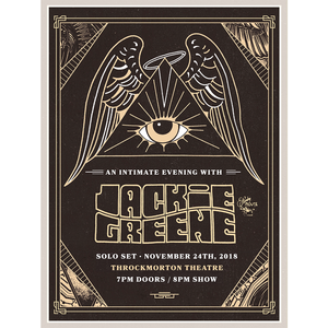 Jackie Greene - 2018 Throckmorton Poster