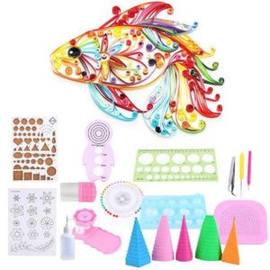 19 Pcs DIY Quilling Kit