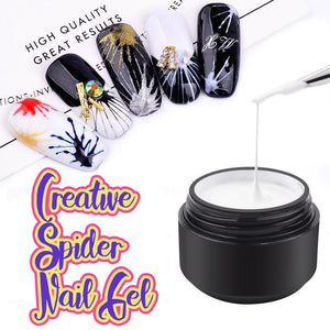 Creative Spider Nail Gel