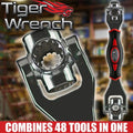 Tiger Wrench: 48-in-1 Socket Wrench