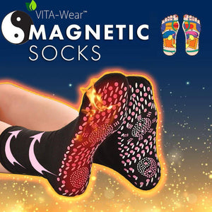 Tourmaline Self Heating Magnetic Socks