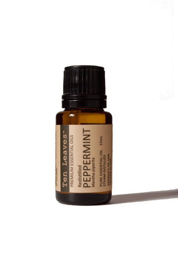 Peppermint Essential Oil, Redistilled
