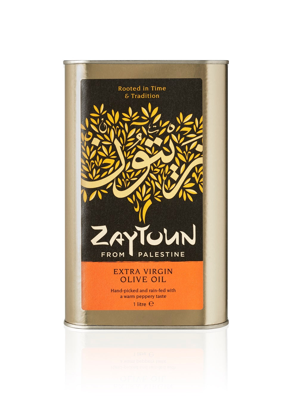 Zaytoun Extra Virgin Olive Oil Case of 6 x 1 litre tins (KT3-4)