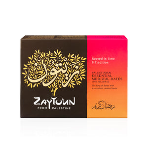 SOLD OUT - Zaytoun Palestinian Essential Medjoul Dates 5kg box