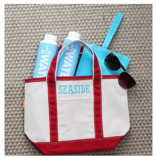 boat tote, small (5 colors available)