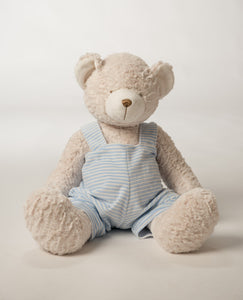 "18"" personalized teddy bear (pink, blue)"