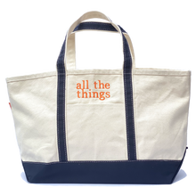 Load image into Gallery viewer, boat tote, large (15 colors available)