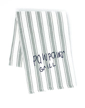 Load image into Gallery viewer, handwritten custom monogram cooking towel (3 colors available)