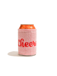 """cheers"" can sleeve"