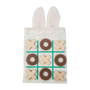 tic tac toe set with monogrammed name