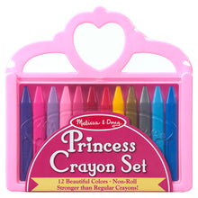 Load image into Gallery viewer, melissa & doug princess crayon set