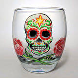 Day of the Dead Glass