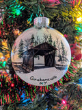 Grahamsville Covered Bridge Ornament