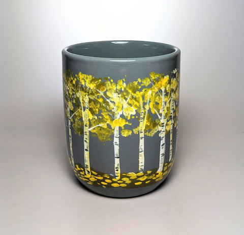Autumn Birch Tree Mug