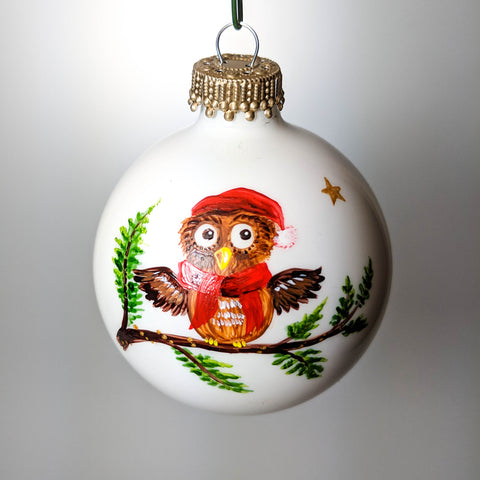 Custom Owl Ornament