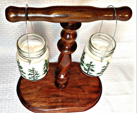 Pine Tree Hanging Jar Candles