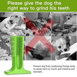 Silicone Dog Toothbrush - www.theknickknackstore.com