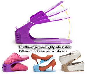 Space Saving Shoe Storage Rack - www.theknickknackstore.com