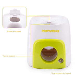 Automatic Fetch Ball Machine for Pets - www.theknickknackstore.com