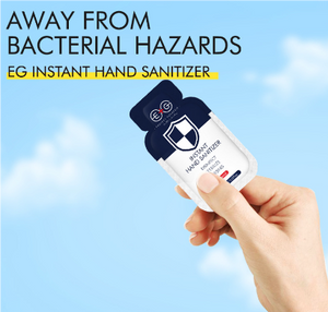 Disposable Hand Sanitizer Sachets - www.theknickknackstore.com