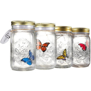 Novelty Light Butterfly Jar - www.theknickknackstore.com