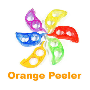 EASY TO USE ORANGE PEELER - www.theknickknackstore.com