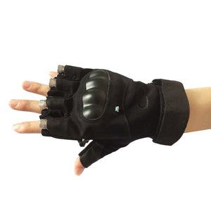 LED Rechargable Laser Gloves - www.theknickknackstore.com