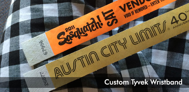 custom tavel wristbands