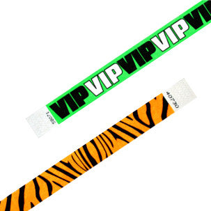 Pattern Tyvek Wristbands
