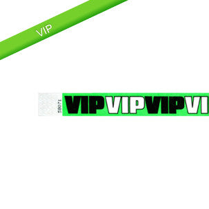 VIP Tyvek Wristbands