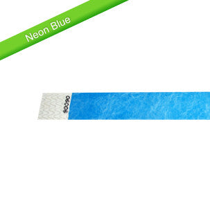 Tyvek Solid Color Wristbands - Free Shipping on Wristbands! - Backstage Supplies