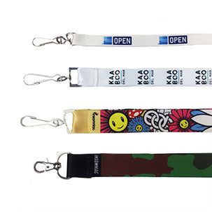 Custom Full Color Dye Sub Lanyards - Backstage Supplies