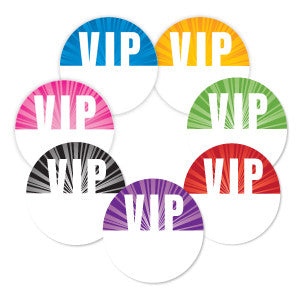 Satin Event & Tour Badges VIP